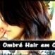 Омбре прическа за тъмна коса