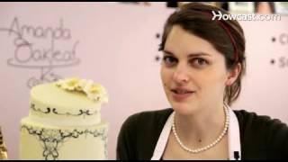 Украсяване на торта от професионалист