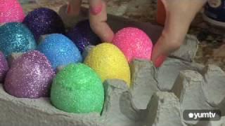 Блестящи великденски яйца идеи