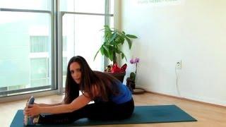 Упражнения за разтягане на краката