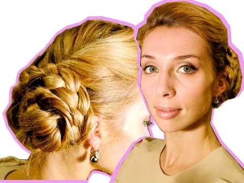 Ефектна вечерна прическа за 5 минути за дълга коса