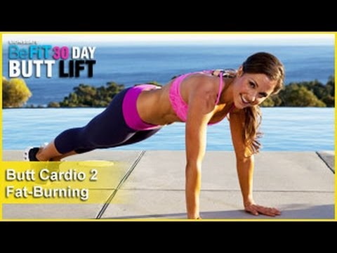 Кардио упражнения за дупе за жени