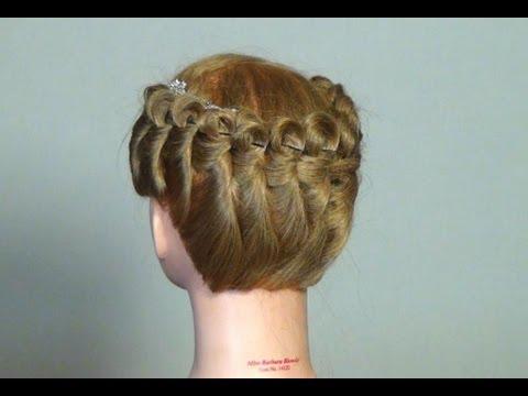 Прическа за средна дължина на косата