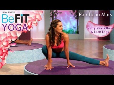 Йога за отслабване в краката