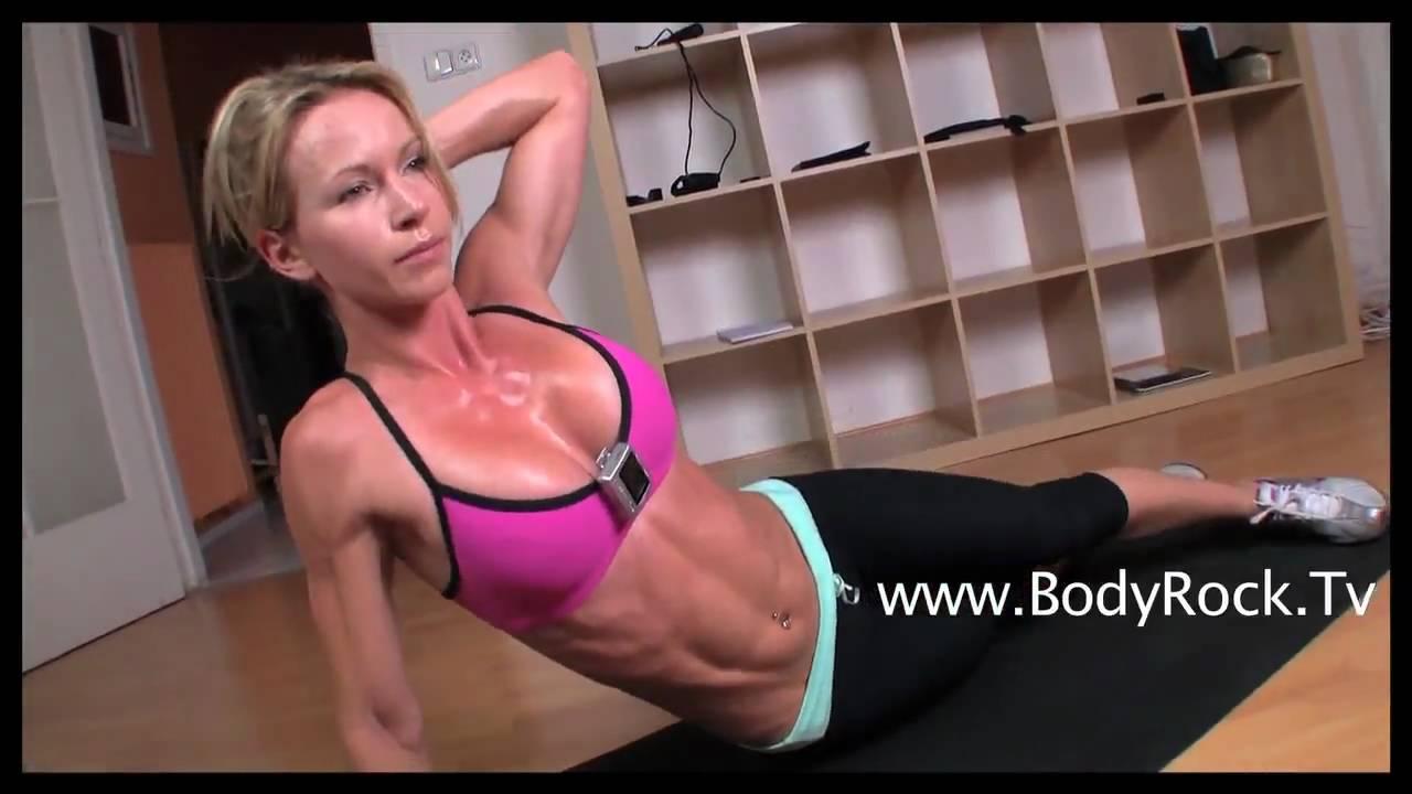 Фитнес упражнения за коремни мускули