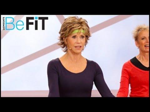 Джейн Фонад упражнения за долна част на тялото