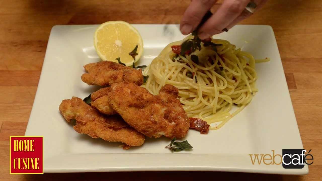Как се приготвя пиле пармезан с паста
