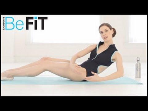 Тяло на балерина с упражнения