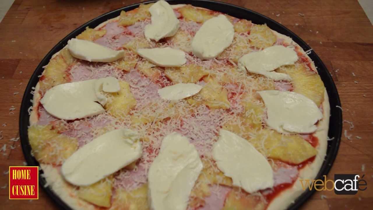 Как да си приготвим пица Хавай