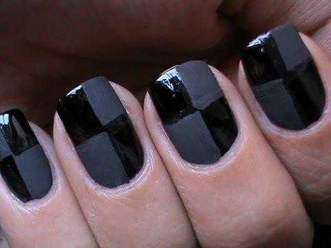 Матов лак тенденция черно и сиво