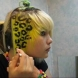 Как да си направите леопардова косата