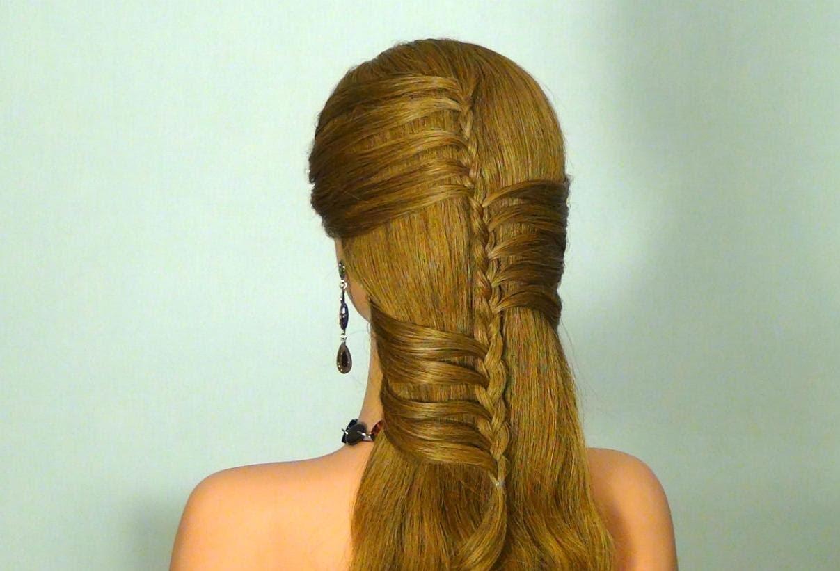 Ежедневна прическа за дълга коса