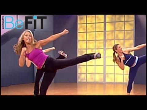 Фитнес упражнения Кикбокс