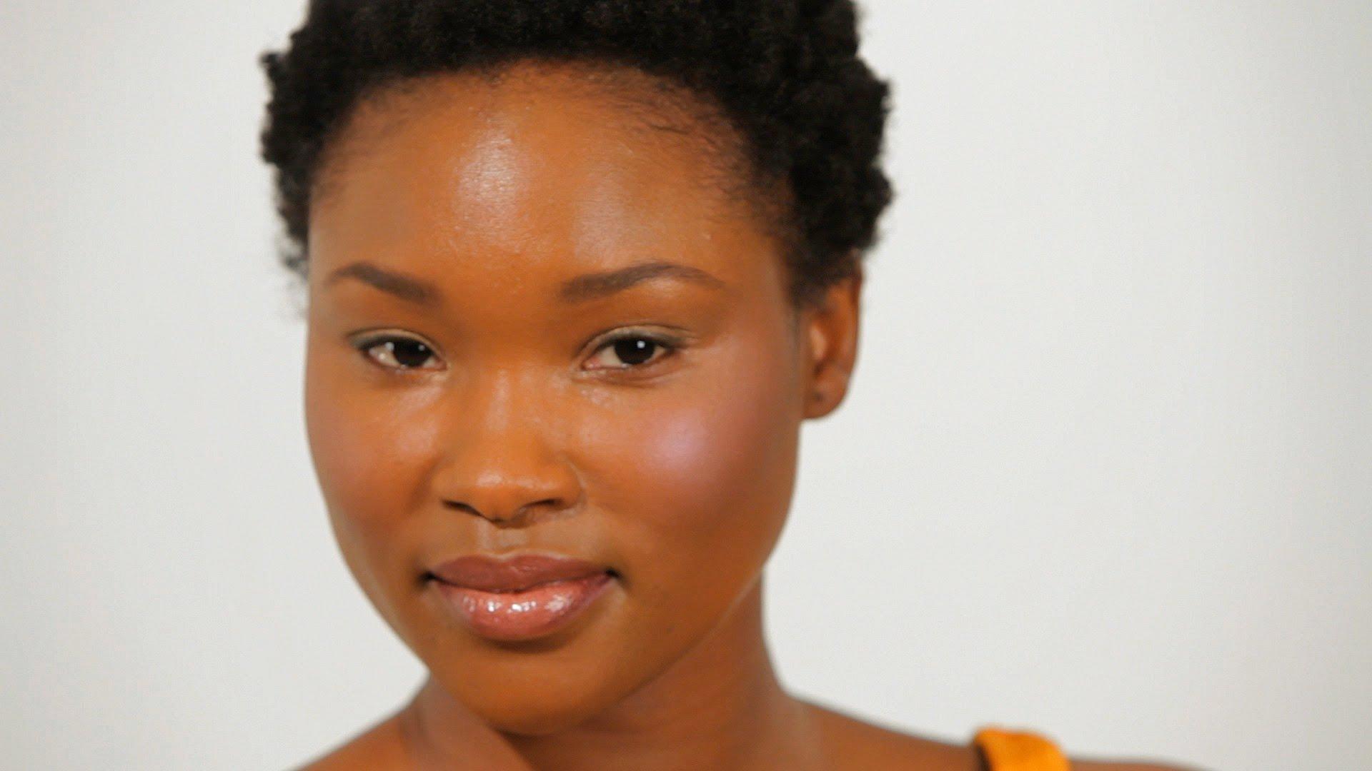 Лесен грим за тъмна кожа