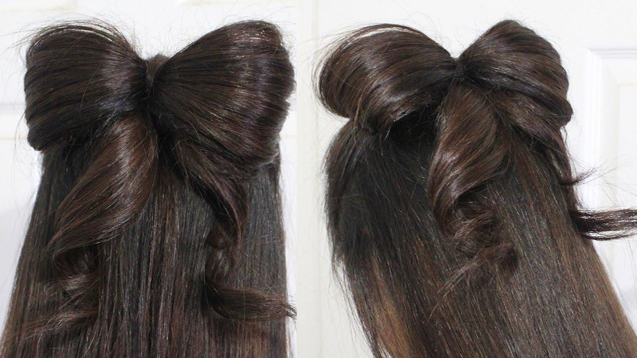 Как да направим панделка от косата си