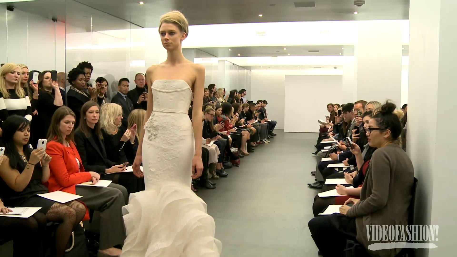 Vera Wang Bridal Булченски рокли есен зима 2013-14
