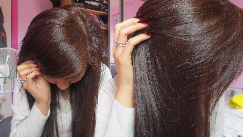 Как да боядисаме косата си от черно в кафяво