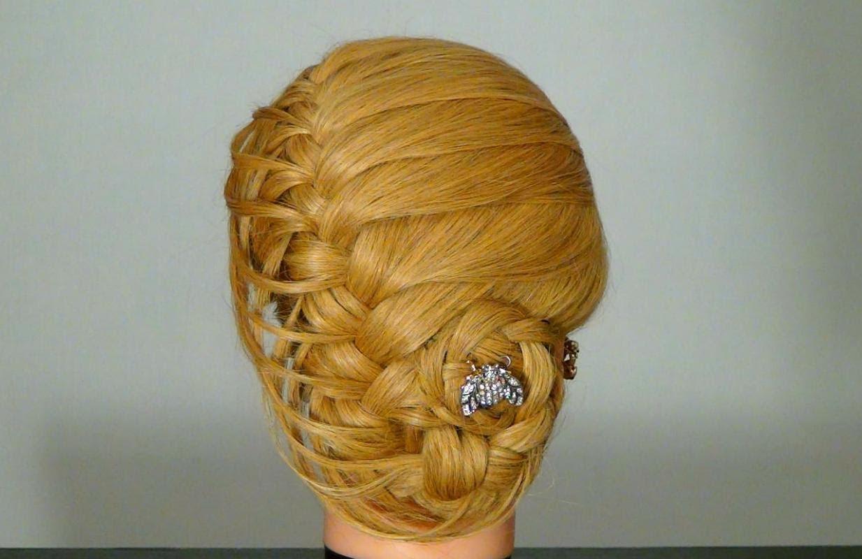 Сплетена прическа за дълга коса