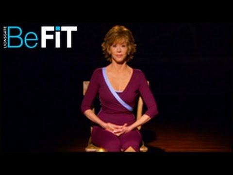 Джейн Фонда Упражнения с медитация и против стрес
