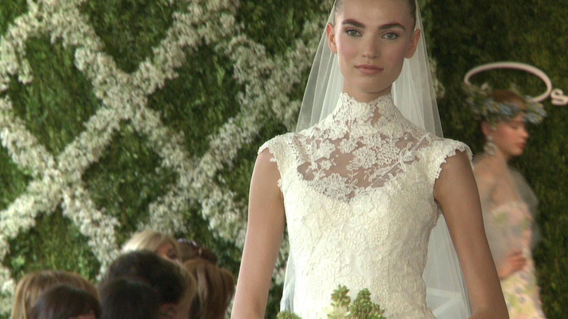 Oscar de la Renta Колекция булченски рокли 2013