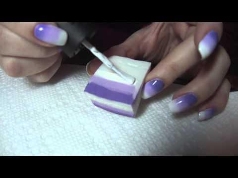 Изкуството на омбре ноктите