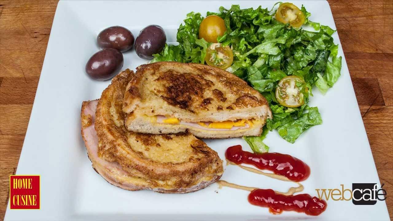 Как да си направим панирани сандвичи с шунка и сирене чедър