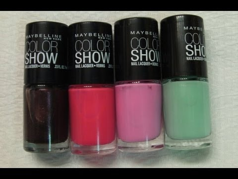Maybelline Цветни лакове за ноти