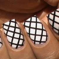 Омбре нокти с блясък