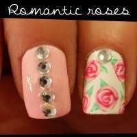 Лак с романтични рози
