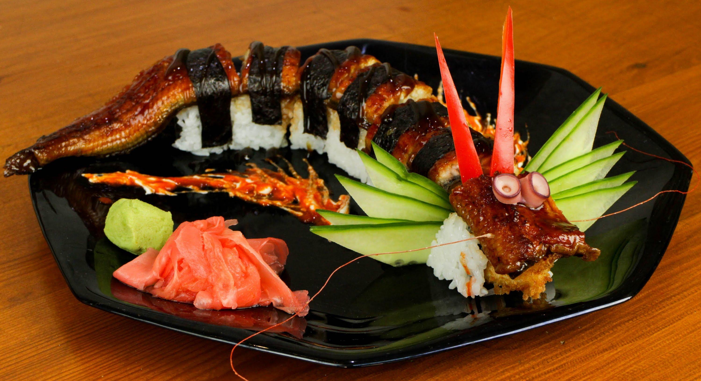 Рецепта за япоснка храна, суши дракон