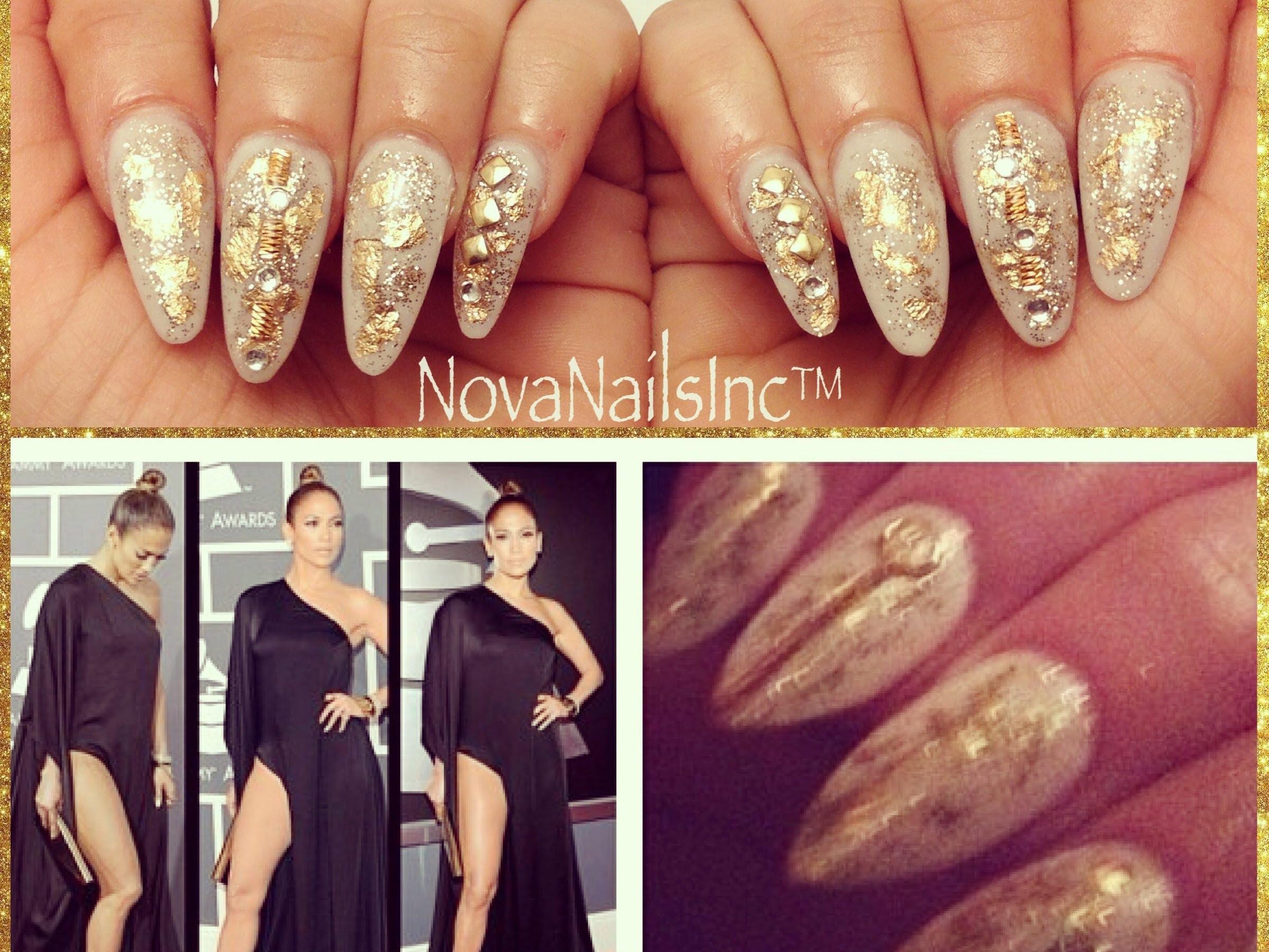 Как да си направим като ноктите като на Jennifer Lopez 2013