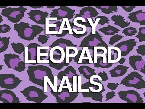 Леопардов маникюр за къси нокти