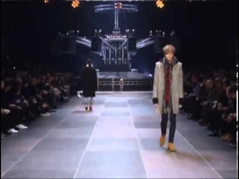 Saint Laurent Мъжка мода есен зима 2013 2014