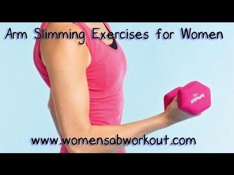 Най-добрите упражнения за ръце за жени