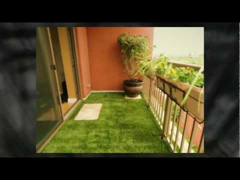 Изкуствена трева за балкон