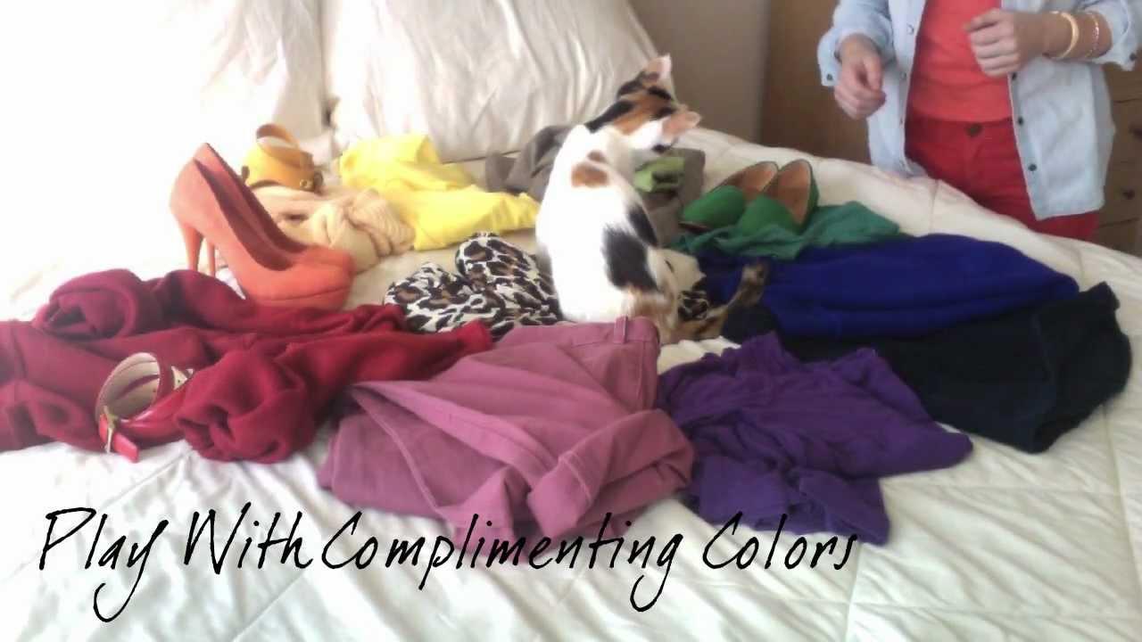 Как да съчетаем контрастните цветове