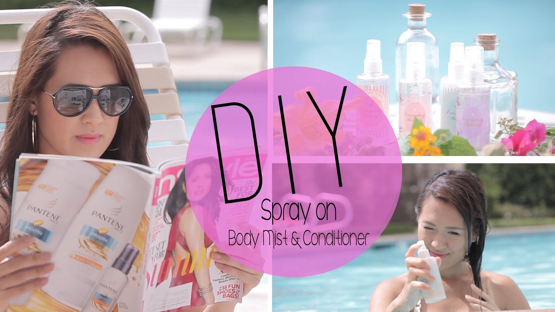 Как да си направим освежаващ спрей за лятото