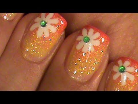 Летни цветя за къси нокти