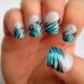 Готини зеброви нокти