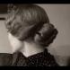 Прическа вдъхновена от стила на 1920 година