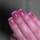 Розово и бяло за къси нокти