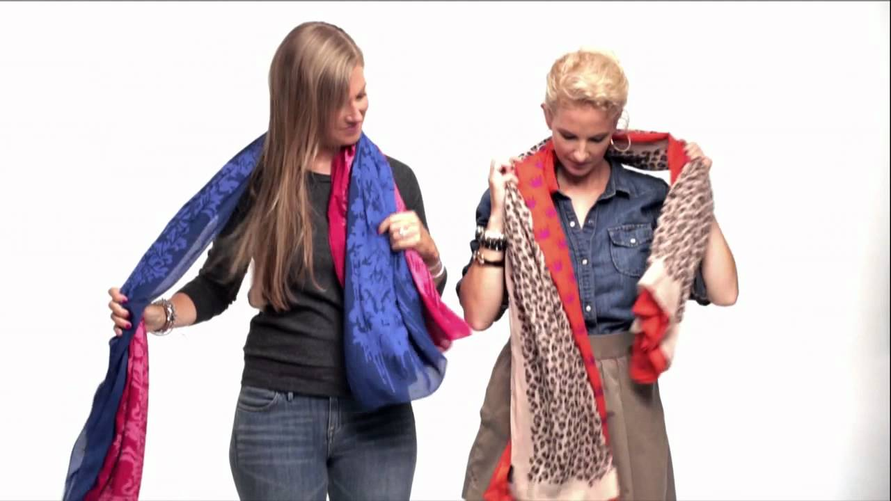 10 интересни начина да носим шал