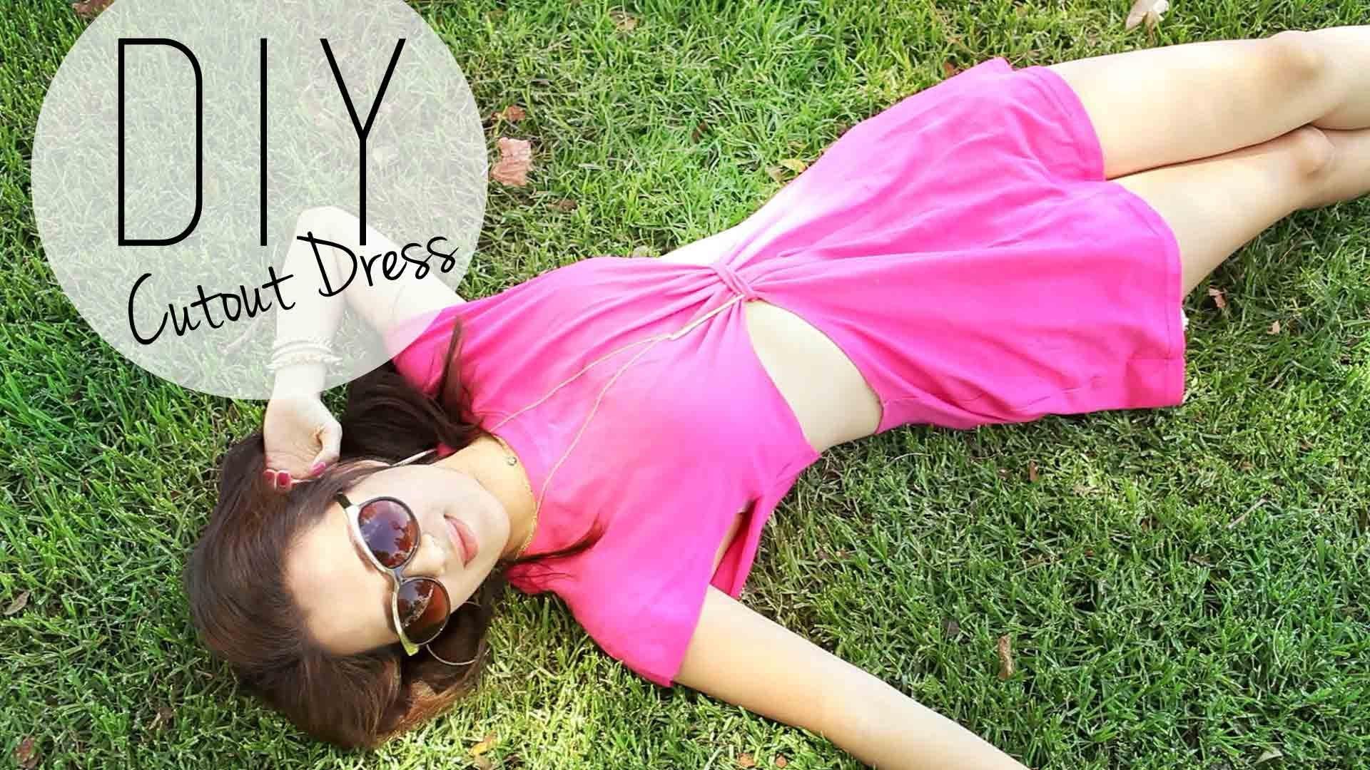 Модата на изрязаните рокли