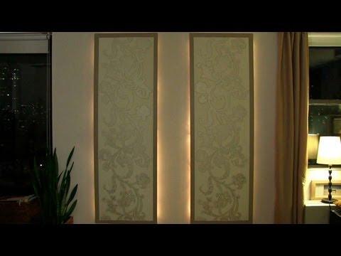 Как да си направим светеща стена