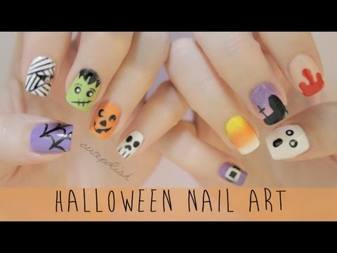 Лак за нокти за Хелоуин