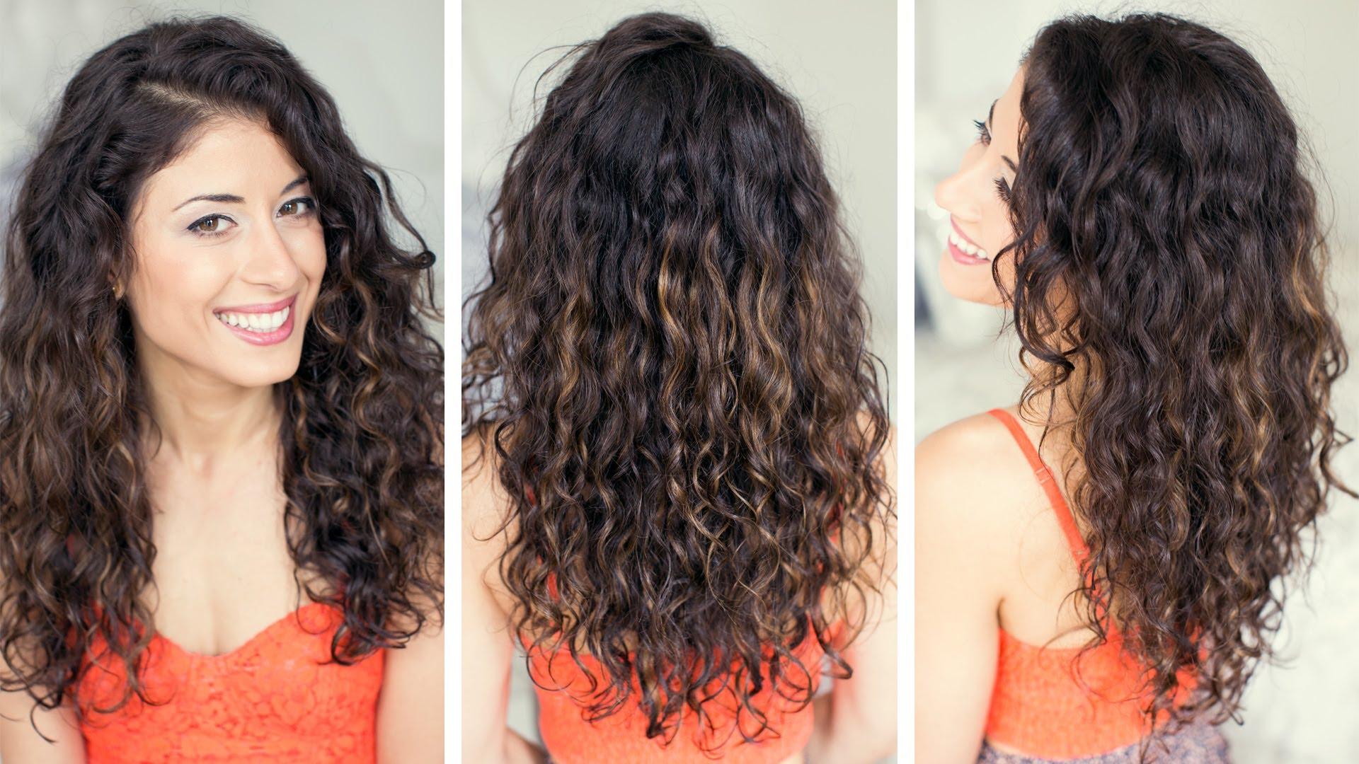 Как да направим прическа на къдрава коса