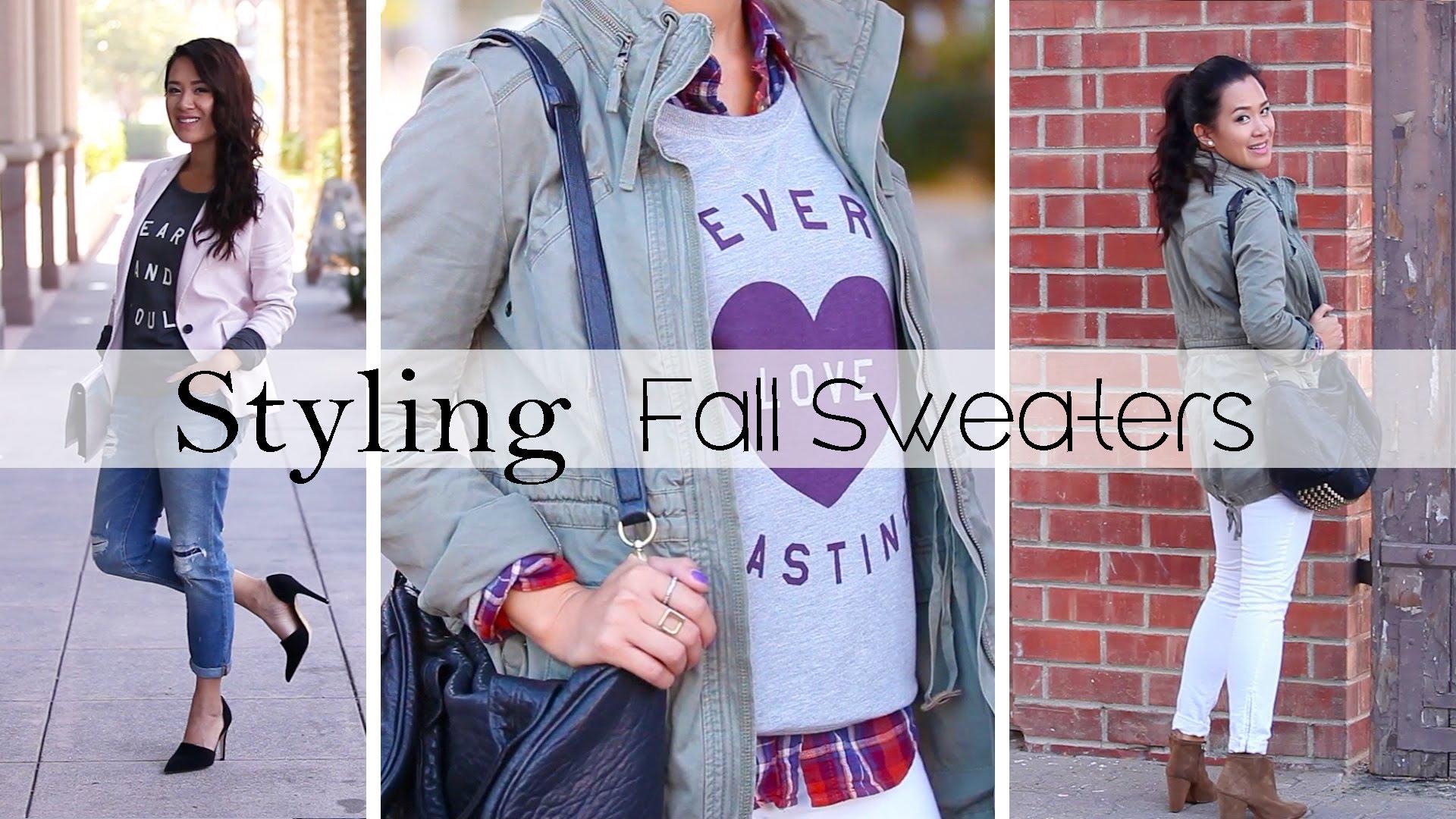 Стилни пуловери за есен 2013