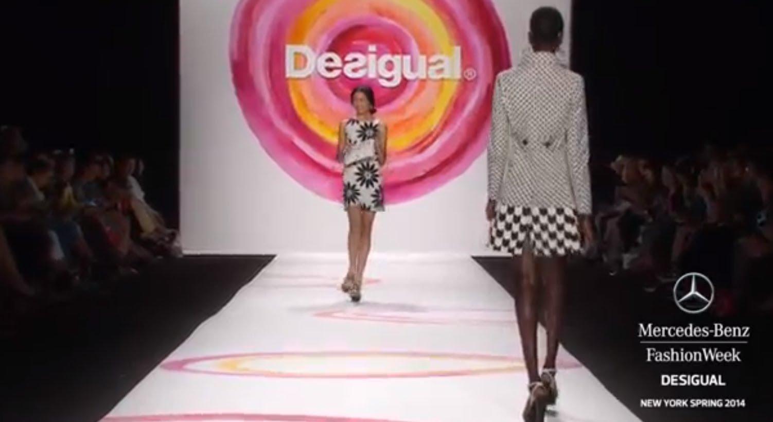 DESIGUAL:Седмица на модата пролет/лято 2014