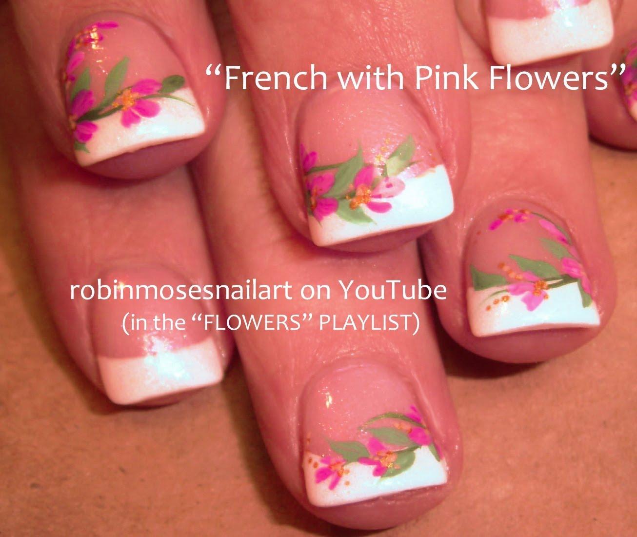 Красиви цветя за къси нокти