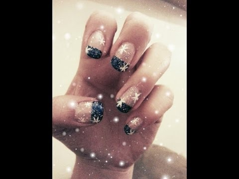 Бляскави зимни нокти